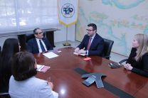 Rector recibe delegación del Programa The Washington Center enfocado en el liderazgo y desarrollo profesional