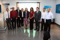 Investigadores de la UTP, autoridades de SENACYT e invitados especiales en presentación del proyecto.
