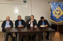Autoridades de la Facultad de Industrial en la UTP Chiriquí.