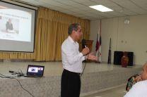 Autoridades del Centro Regional de Bocas del Toro.