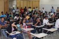 Estudiantes y docentes del Centro Regional de Bocas del Toro.