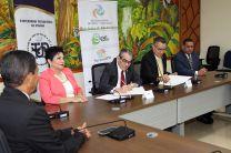 UTP y SERTV firman Convenio Marco de Cooperación.