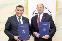 UTP firma acuerdo de Cooperación con Arkansas