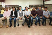 Estudiantes que participaron en la eliminatoria.