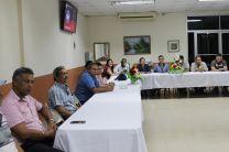 Docentes del Centro Regional de Bocas del Toro, sede de la UTP.