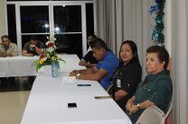 Cuerpo docente de la UTP en Bocas del Toro.