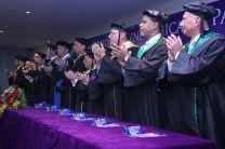 Autoridades en la Ceremonia de Graduación del Centro Regional de Veraguas.