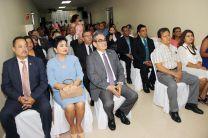 Autoridades de la UTP participaron de la Proclamación.