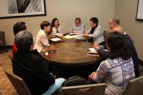 Autoridades de la UTP se reúnen con representantes de la Universidad de Chiva Japón