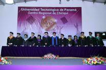 Ceremonia de Graduación 2016, en el Centro Regional de Chiriquí.