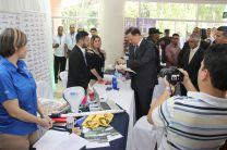 El Presidente de la República, Ing. Juan Carlos Varela, realiza recorrido por la Feria de empleo en la UTP