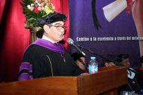 Palabras de felicitaciones por el Rector, Ing. Héctor M. Montemayor Á.