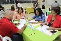 Participante de la empresa privada evalúan Proyecto de Investigación de la Cadena de Suministro.