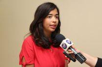 Ing. Gabriela Girón, Miembro Jóven del Comité de Carga Urbana de TRB y  Egresada de la UTP.