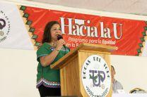 Coordinadora General de los Centros Regionales de la UTP, Ing. Brenda Sarracín.