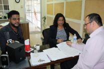 Reunion con los Administrativos del Centro Regional de Bocas del Toro.
