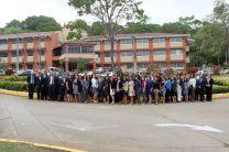 Participantes del HUB de las Américas 2019 Panamá, en los predios de la UTP.