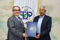 Firma de Convenio entre UTP y la sociedad Es Flor de Mayo Investment S.A.