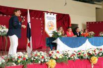 Dra. Sidia Moreno, del Centro de Investigación CINEMI, presenta proyecto.