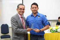 El Coordinador del evento y el emprendedor José María González.