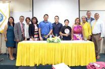 Docentes del Departamento Académico de Recursos Humanos de la FII y emprendedores.