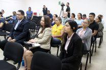 Investigadores de la UTP y la Universidad de Panamá en el lanzamiento y presentación