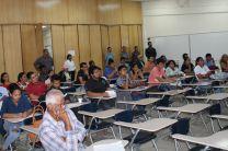 Auditorio de la UTP en Bocas del Toro.