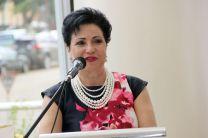Licda. Alma Urriola de Muñoz, Vicerrectora Académica de la UTP, inauguró el evento.