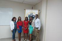 Participaron cuatro chicos de diferentes facultades para representar al Centro Regional de Colón en el Concurso Nacional.