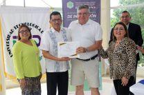 Certificado de participación a expertos internacionales de CECIAC.