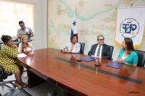 Fundación Calicanto firma convenio con la UTP.