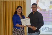 Reconocimiento al joven emprendedor y estudiante de la UTP.