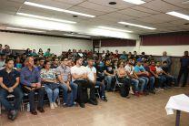 Los estudiantes también se reunieron con el Rector de la UTP.