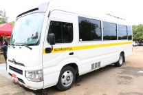 UTP Chiriquí recibe un nuevo bus.