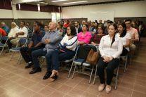 El Rector se reunió con docentes y administrativos del Centro.