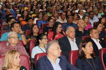 Docentes, estudiantes, investigadores y administrativos participaron del evento.