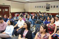 Participantes en la toma de posesión de nuevo presidente del Círculo K – UTP.