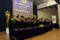 Las autoridades de la UTP participaron en el desarrollo de la Ceremonia de Graduación en Colón.