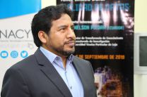 El expositor Nelson Piedra, del Talller Linked Data - Calidad de Datos.
