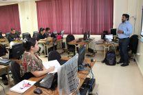 Con mucho entusiasmo se desarrolla el taller en la UTP.