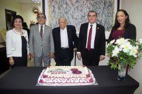 Cantaron la celebración del aniversario 37 de la Facultad de Ingeniería Mecánica.