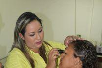 Seminario taller de maquillaje.