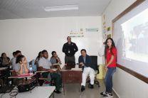 Visita a los colegios de Changuinola.