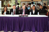 Autoridades de la UTP y de la Facultad de Ingeniería Civil, entre otros participantes.