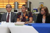 Rector de la UTP, Ing. Hector Montemayor, inaugura la reunión del Consejo Técnico.