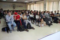 Docentes de Sapienza, dictan conferencias a estudiantes y docentes de la Facultad de Ingeniería Civil y de Mecánica.