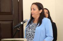 """La presentación de la Revista """"Voz del Estudiante"""" estuvo a cargo de la Ing. Vivian Valenzuela."""