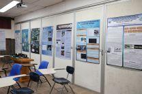 Como parte de la Jornada, los estudiantes presentaron posters sobre sus proyectos de investigación.