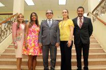 Autoridades de la UTP y representantes de la empresa CEMEX.