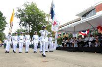 Emblema Nacional encabeza desfile cívico de la UTP.